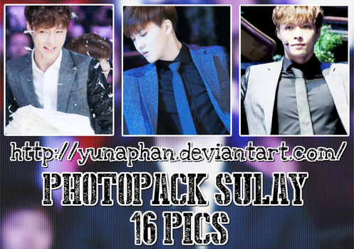 PHOTOPACK SuLay (EXO) #179 by YunaPhan
