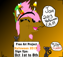 Join Halloween F.A.P. 2013! by MelchiorFlyer