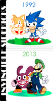 Invincible Sidekicks, THEN and NOW! by NkoGnZ