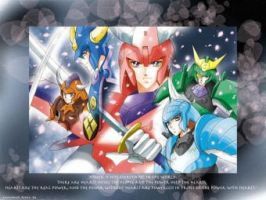 Ronin Warriors by Whitey124