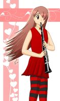 Clarinet Player by spring-sky