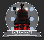 EXTERMINATE! by LorranNery