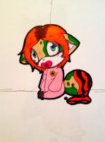 Baby Painter tail to make sc00tah feel better by evil-vivianne