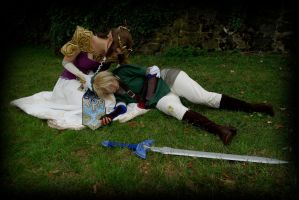 Zelda Cosplay: Game Over? by Yesta-sensei