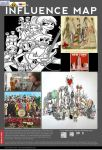 My Influence Map by EvilExGirl