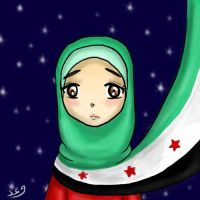 I support the free Syrian people by Waad-Hkf