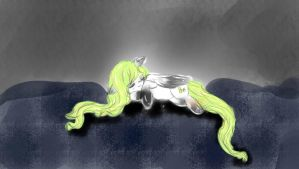 Pamboo Sleeping by Ambercatlucky2