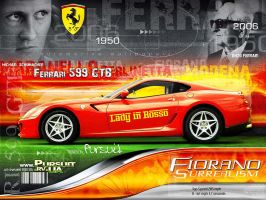 Fiorano Surrealism by pursuit-porsche
