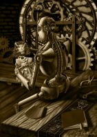 Clockwork toy by SBraithwaite