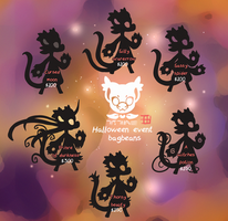 Halloween Event bagbeans to be revealed! CLOSED by griffsnuff