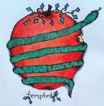 Tempted Tattoo by alovesongofinsanity