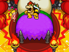 Bowser and Peach by ValAndy7