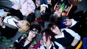 Hakuoki - group by ashteyz