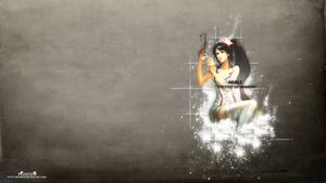 LoL - Nurse Akali Wallpaper ~xRazerxD by xRazerxD