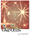 StarShine - PS Brush Set by pixel-fluff