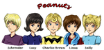 Peanuts Charlie Brown Gang by AStudyInScarlet
