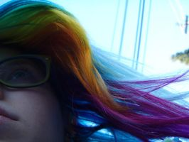 Rainbow Wired by MeganYourFace