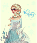 Frozen: Elsa: Thank You For Everything by FrozenViolinist