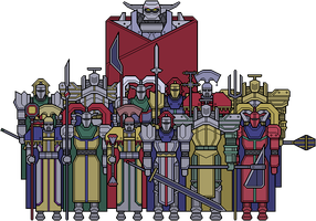 Knights of the Round by GrosDino
