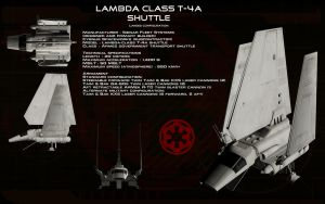Lambda class T-4A shuttle ortho (2) by unusualsuspex