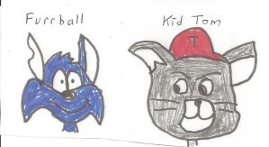 Furrball and Kid Tom (updated) by dth1971