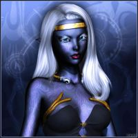 Young Drow by UweG