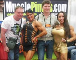 SEXY Suzy Kellner And Denise Masino At 2014 Arnold by zenx007