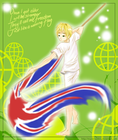APH: Just Like a Waving Flag by murderaddict