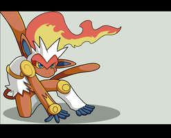 Infernape. by Mack-chan