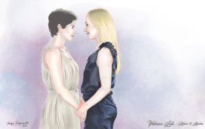 Rebecca y Marlene from Verbotene Liebe by cgtang