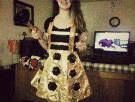 Dalek Costume: Just dress, plunger, and whisk. by That-One-Player