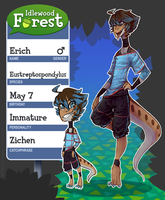 Idlewood Forest .:Erich:. by Forestii