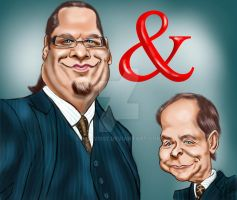 Penn and Teller by adavis57