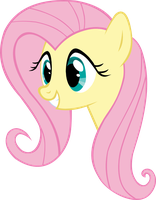 Fluttershy Vector by dashofrainbow235