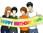 Happy BDay Ana!!! by glorypaintGR
