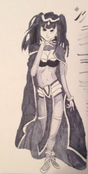 The sinister shadow Tharja by AlexFanmade