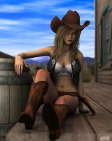 Melissa the Cowgirl by twosheds1