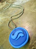 Clay Heir of Breath Necklace by DemigodWarriorWizard