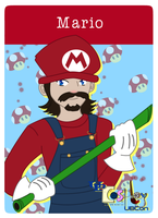 Clue Card Mario by Swiftstart