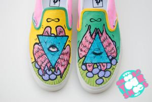 pyramid shoes by mburk