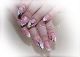 Nail art 266(Gel nails) by ChocolateBlood