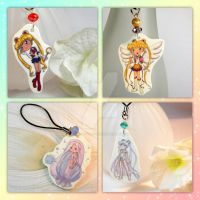 Sailor Moon Phone Charms II by thedustyphoenix