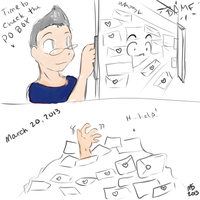 Markiplier's new PO box by Bleu-Dragon
