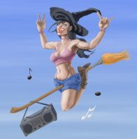 Funky Witch - Nolines by Spacesam
