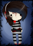 Chibi sadness by GameOverGertrude