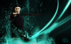 Jet Li v3 - 1680X1050 by RisingDragon54