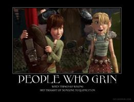 When Hiccup or Astrid Smiles by HTTYDlover12