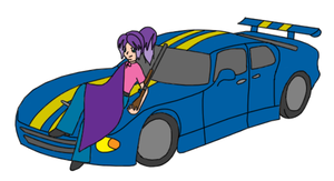 Concept Art - Eevy and Car by mediaklepto