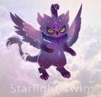 ADOPTABLE - Starlight Twins [DARK] (Closed) by clover-teapot