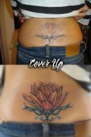 Lotus cover up by ravenwarlock